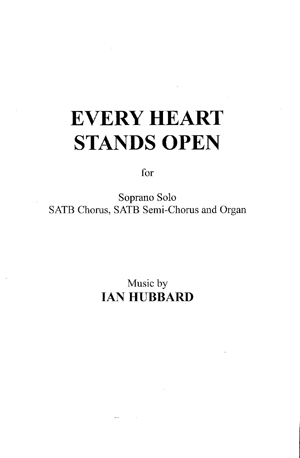 Every Heart Stands Open